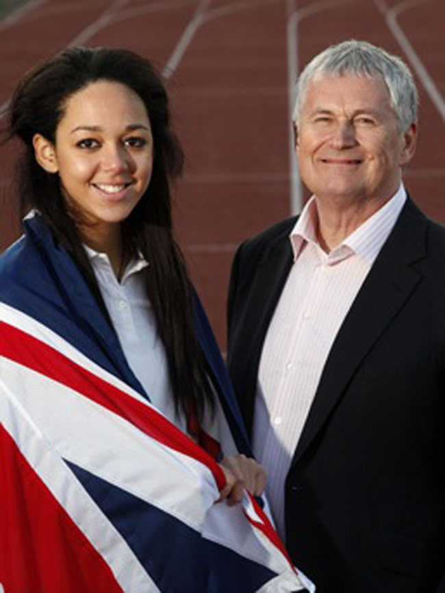 Barrie Wells & Katarina Johnson-Thompson