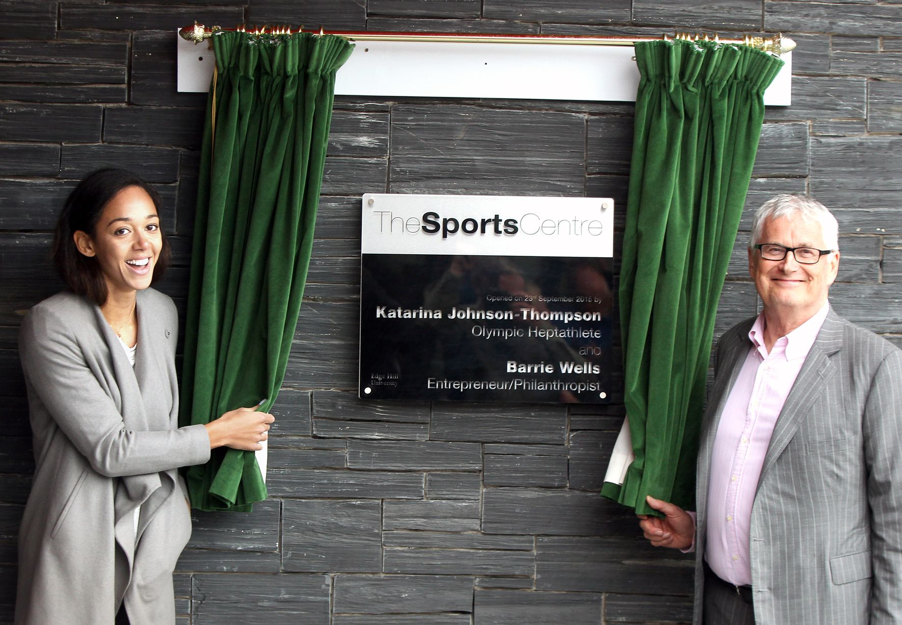 Edgehill Sports Centre opening