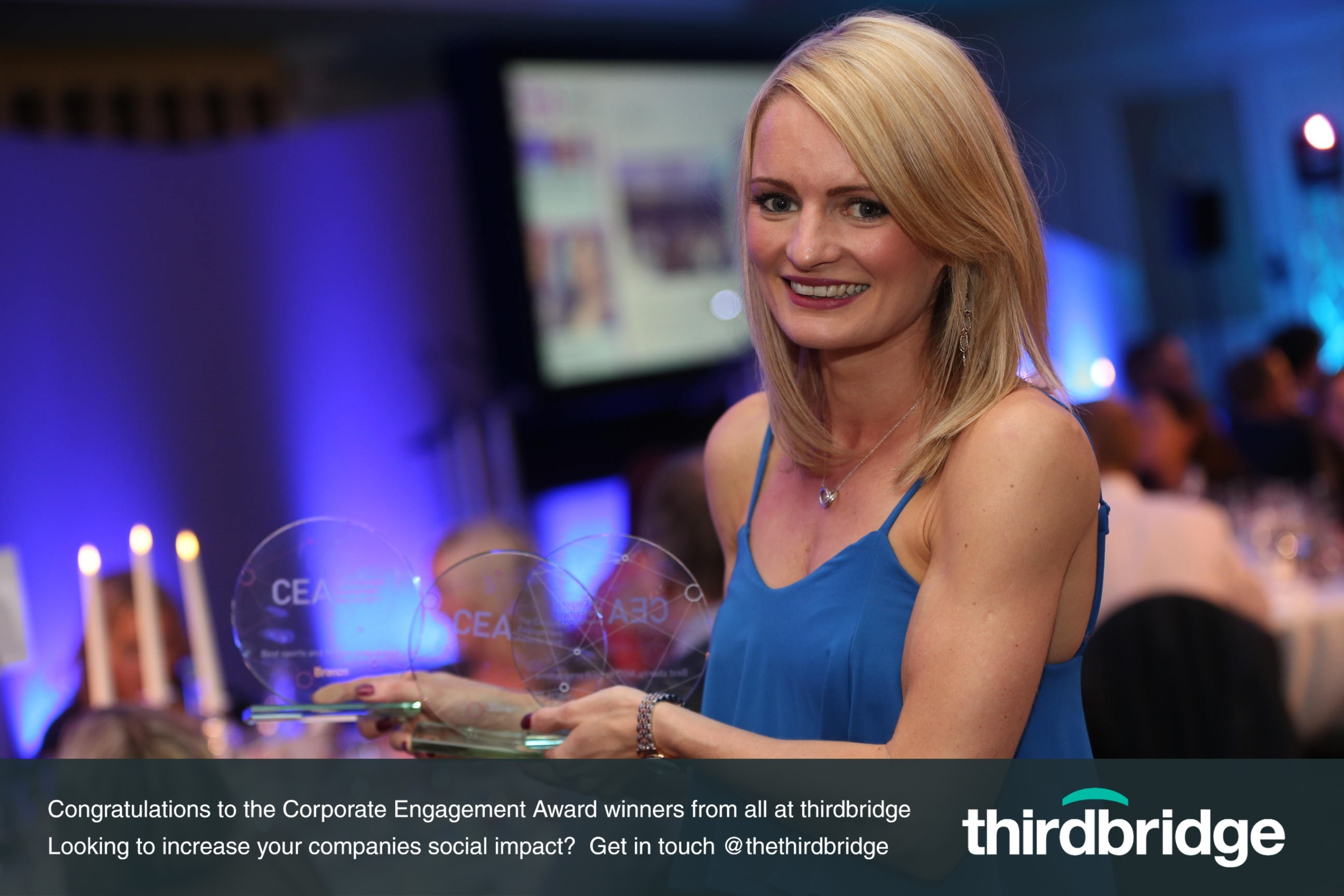 Corporate Engagement award winners 2015