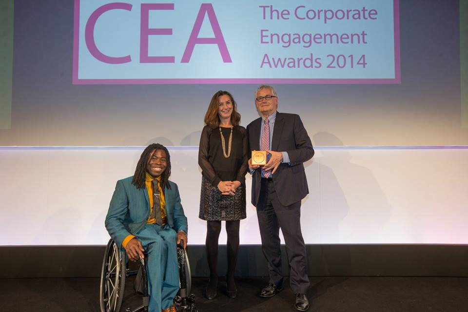 Corporate Engagement award winners 2014