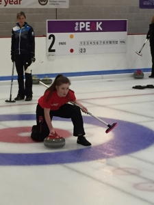 Barrie Wells Trust donates curling experience with Eve Muirhead to local school children.