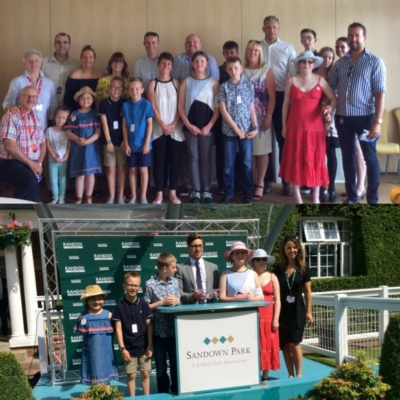 Box4Kids invites deserving children to be VIPs at Sandown Park Racecourse
