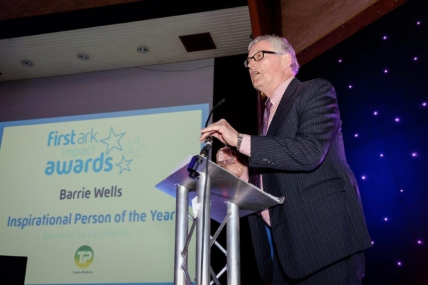 Barrie recognised with Inspirational Person of the Year Award